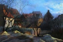 Frans-dorpsgezicht