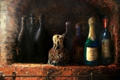 Nis-met-wijnflessen