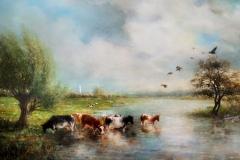 landschap-met-koeien